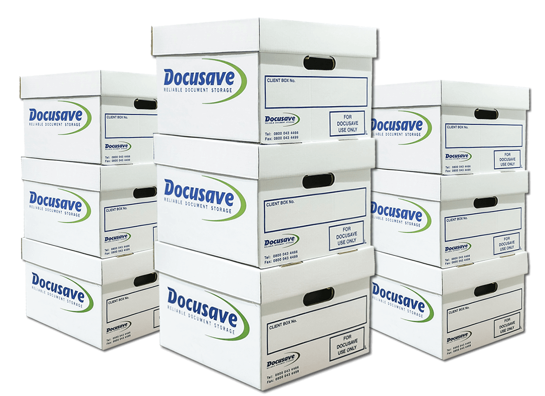 Docusave Document Storage Boxes